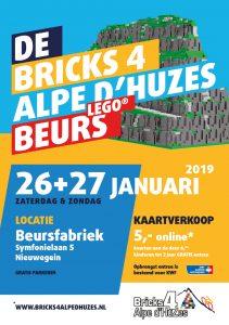 flyer voor de beurs van 2019